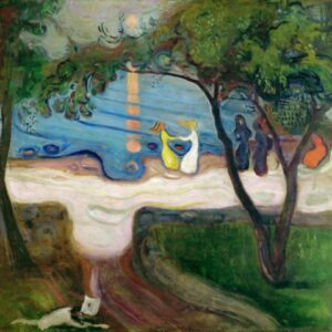 EDVARD MUNCH Dance on the Beach