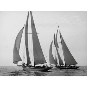 EDWIN LEVICK Sailboats Race Yacht Club Cruise