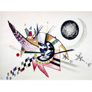 WASSILY KANDINSKY Watercolor Painting of Composition