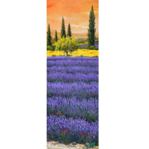 TEBO MARZARI Afternoon among the lavender