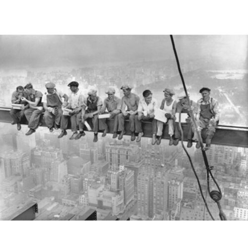 CHARLES EBBETS New York Construction Workers