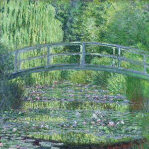 CLAUDE MONET The Waterlily Pond