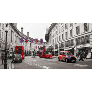 PANGEA IMAGES Buses and taxis in Oxford Street